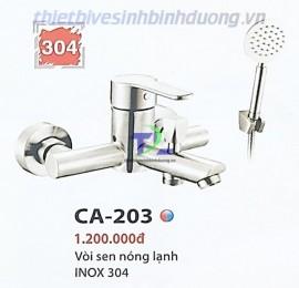 voi-sen-nong-lanh-ca-203-inox-304-